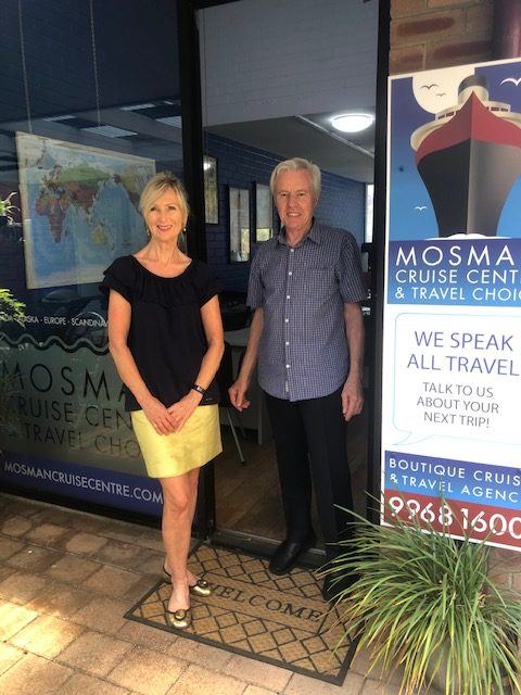 Mosman Cruise Centre consultants Biba and Martin