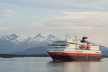 Hurtigruten Polarys at sea